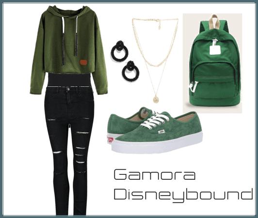 Gamora DIsneybound