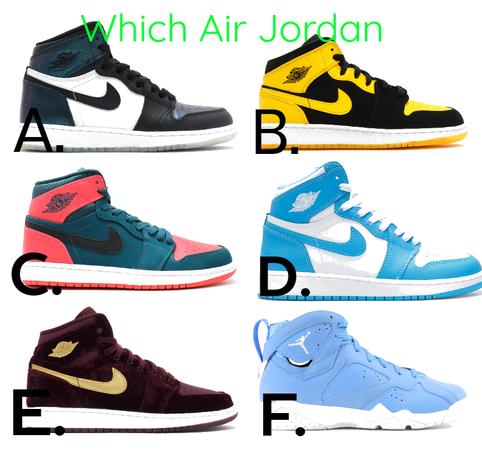 Which Air Jordan