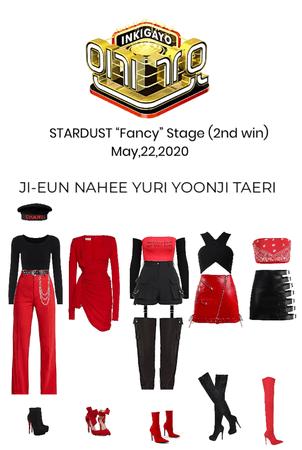 """STARDUST """"Fancy"""" Inkigayo Stage"""