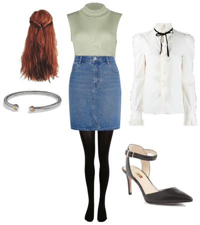 Denim Skirt Challenge