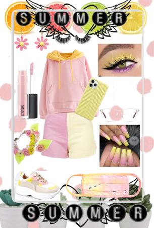 Pink&Yellow💕💛