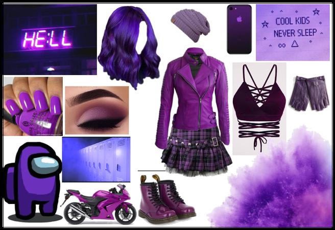 Challenge: Purple Monochrome