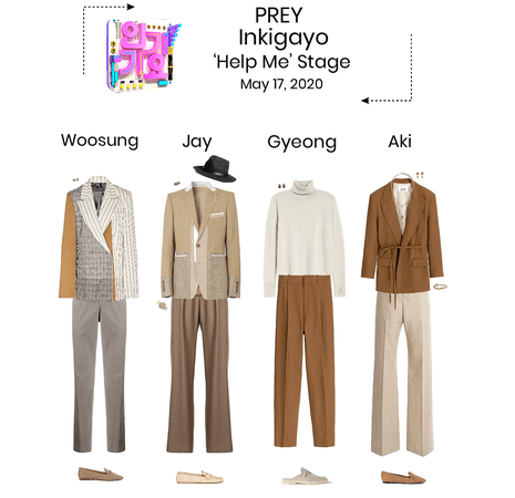 PREY//'Help Me' Inkigayo Stage