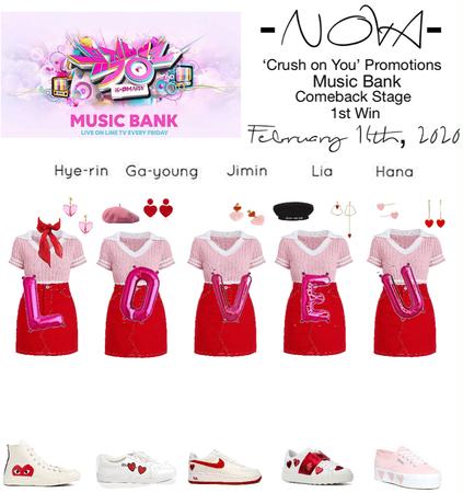 -NOVA- 'Crush on You' Music Bank Stage