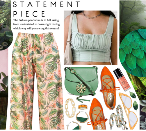 Statement Trousers: Tropical Relax