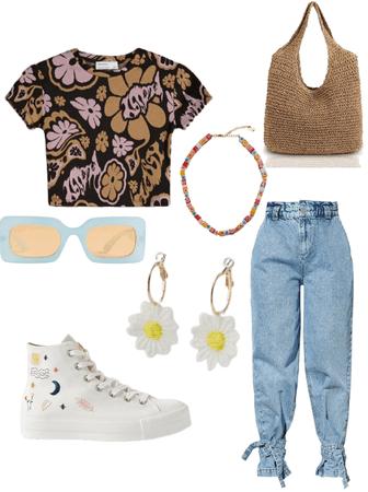 80's/ casual/ artsy
