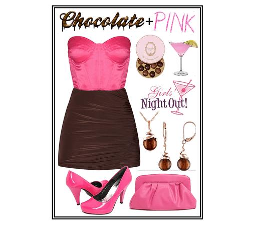 chocolate + pink