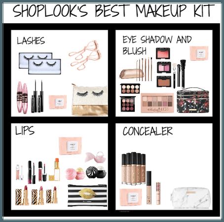 shoplook's best makeup kit