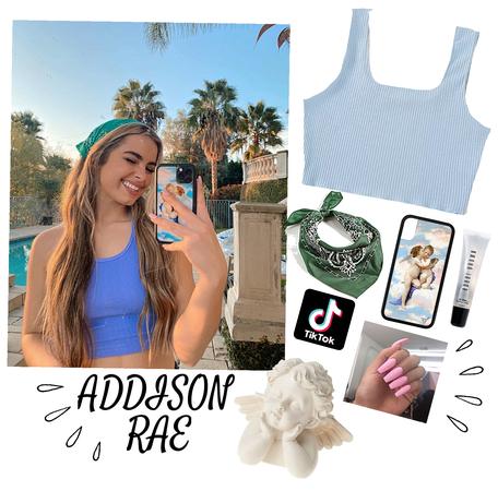 #ADDISON RAE