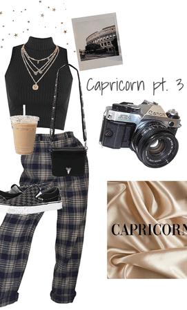zodiac signs pt. 3 Capricorn ♑️