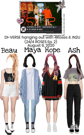 DI-VERSE on 4ROSES Reality Show '24/4 ROSES'