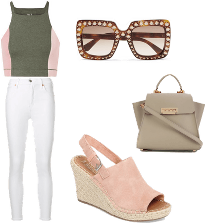 Brunch with girls ( teenage outfit)
