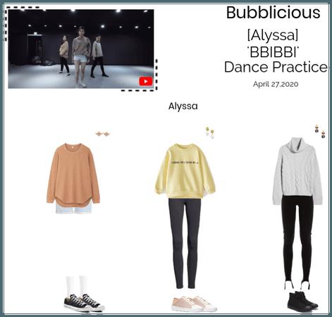 Bubblicious (신기한) [ALYSSA] 'BBIBBI' Dance Practice