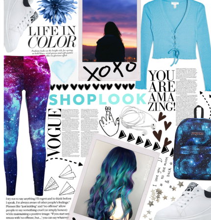 How To Style: Galaxy Leggings.