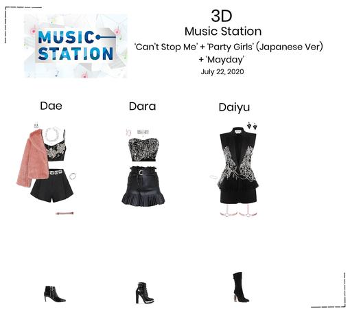 {3D} Music Station