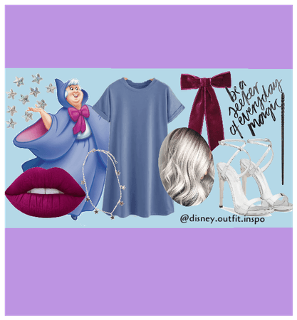 Fairy Godmother Inspired Outfit