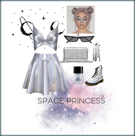 Space Princess Halloween costume