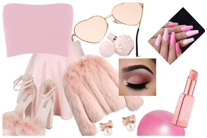 "ALL ""Pink Monochrome"""