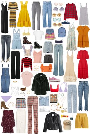character wardrobe