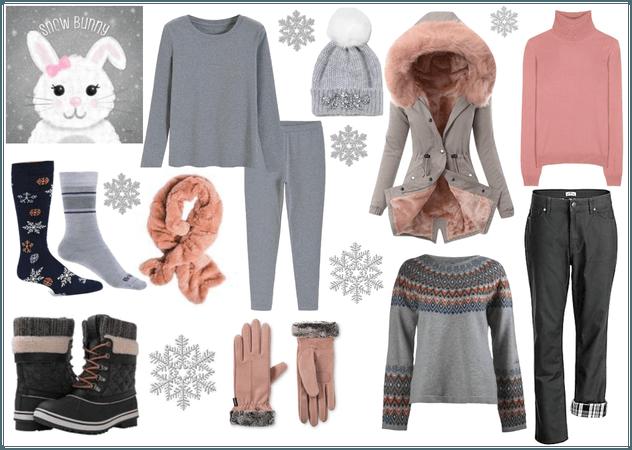 Keeping The Snow Bunny Warm