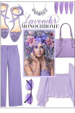 Lavender Monochrome