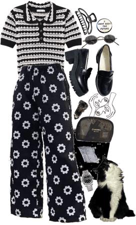 black+white prints
