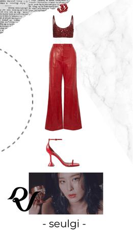 Red Velvet the Red Attire - Seulgi