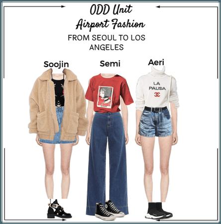 {Airport Fashion} SEOUL TO LA