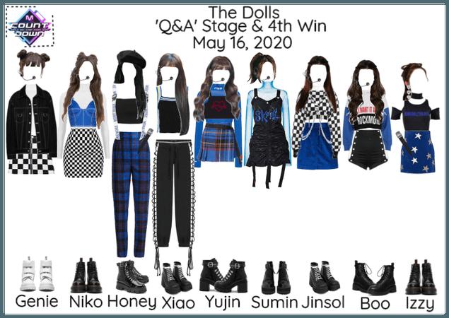 [Q&A - The Dolls] M Countdown & Read D!