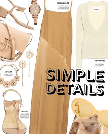 so simple | simple summer dress