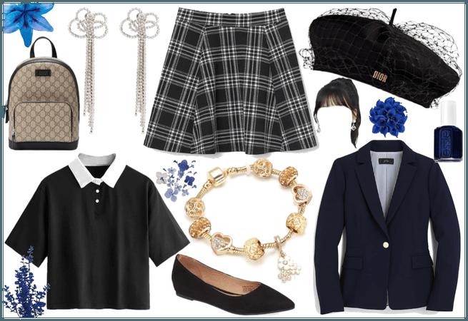 CONTEST - Preppy School Girl