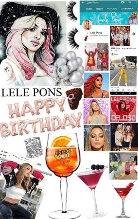 happy birthday 🥳 lele
