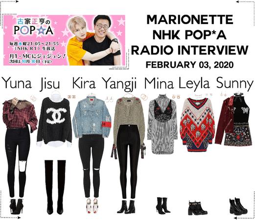 MARIONETTE (마리오네트) NHK POP*A Radio