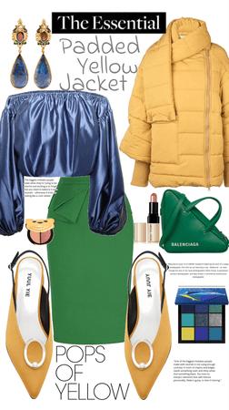 Padded Yellow Jacket
