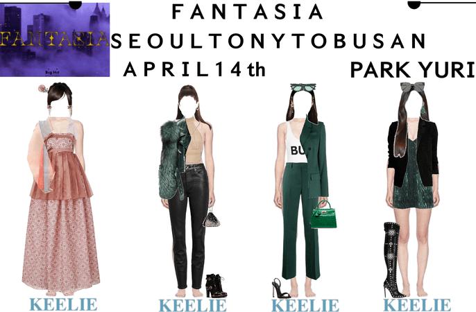FANTASIA EPISODE 2: SEOUL TO NEW YORK TO BUSAN   KEELIE