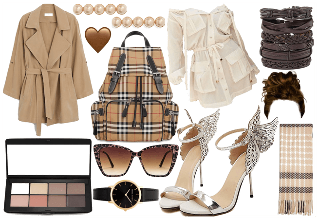 Beige Themed Outfit