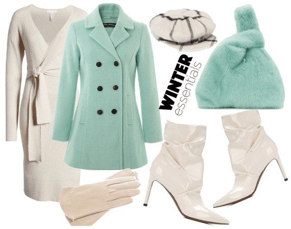 Mint and cream Winter
