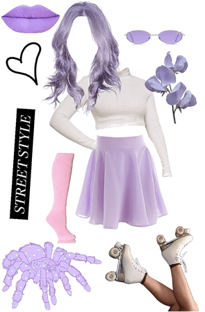 Skirt challenge outfit