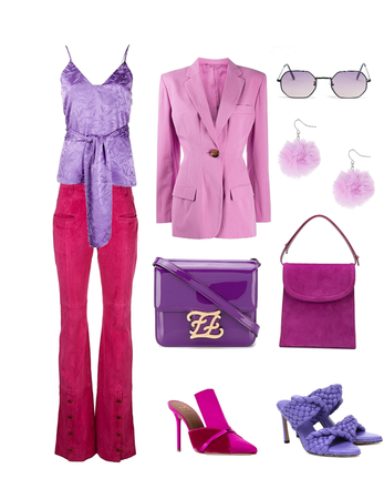 Pink and Purple look