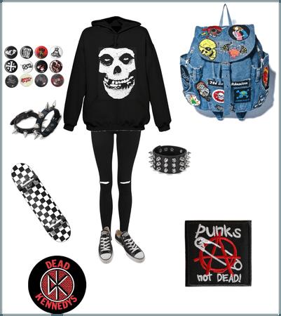 Punk rock skater