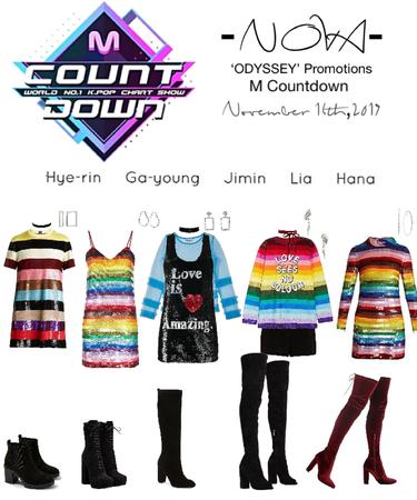 -NOVA- 'ODYSSEY' M Countdown Stage