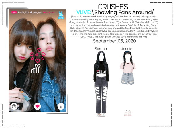 Crushes (호감) [Sun-ha & Jennie] Surprise Vlive