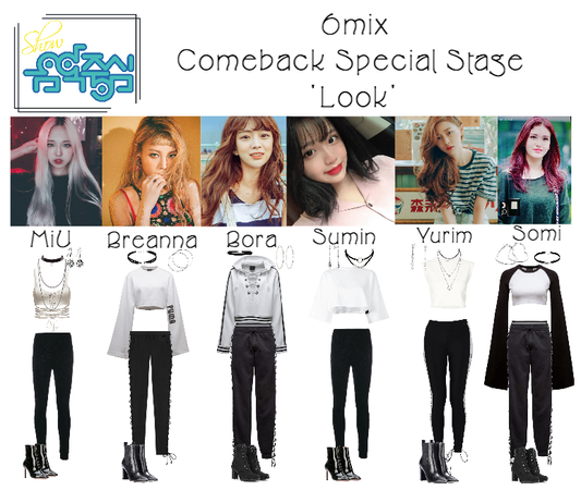 《6mix》Show! Music Core Comeback Speical Stage