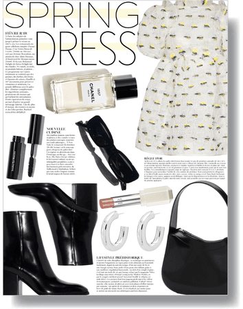 pretty dress day, everyday 🤍