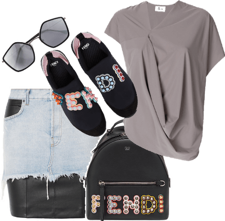 Fendi Sneakers and Bag