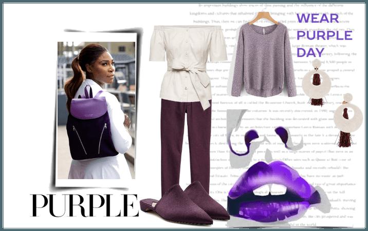Wear Purple Day