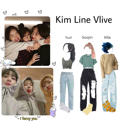 Kim Line Vlive outfits