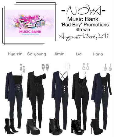 -NOVA- 'Bad Boy' Music Bank Stage