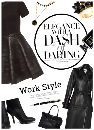 Elegance w a dash of daring! Work style
