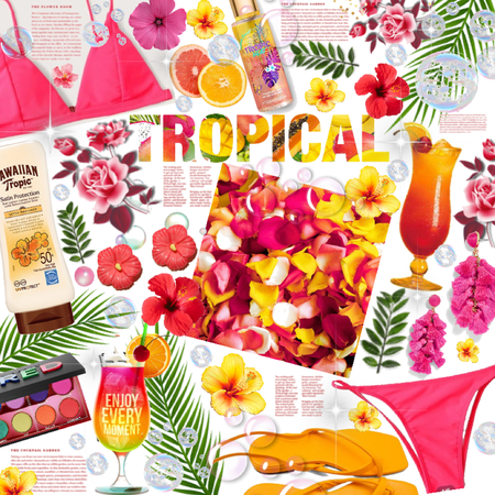 Tropical 🐠 🌸🌺